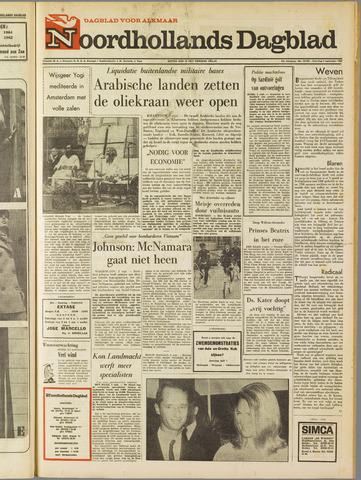 Noordhollands Dagblad : dagblad voor Alkmaar en omgeving 1967-09-02