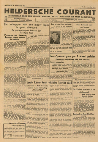 Heldersche Courant 1946-02-27
