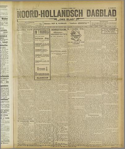 Ons Blad : katholiek nieuwsblad voor N-H 1921-04-02