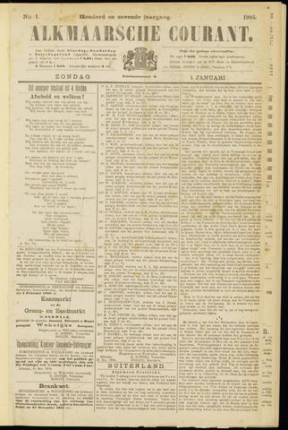 Alkmaarsche Courant 1905-01-01