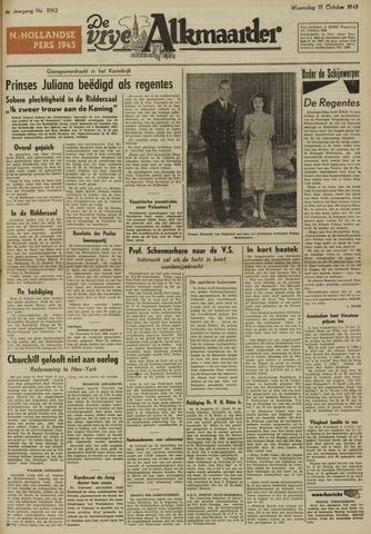 De Vrije Alkmaarder 1947-10-15