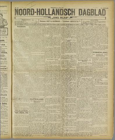 Ons Blad : katholiek nieuwsblad voor N-H 1921-06-22