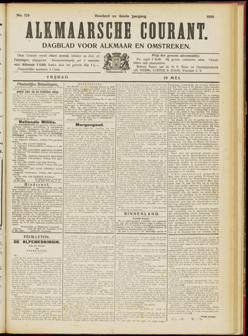 Alkmaarsche Courant 1908-05-29