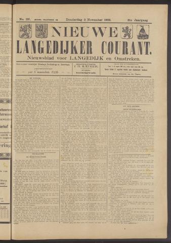 Nieuwe Langedijker Courant 1922-11-09