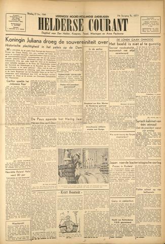 Heldersche Courant 1949-12-27