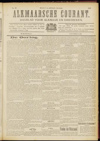 Alkmaarsche Courant 1916-02-09