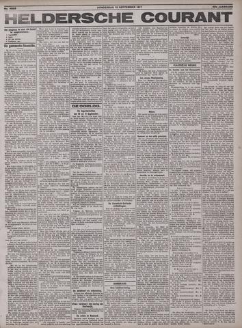 Heldersche Courant 1917-09-13