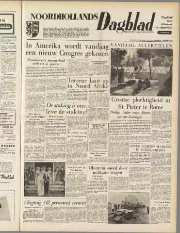 Noordhollands Dagblad : dagblad voor Alkmaar en omgeving 1954-11-02
