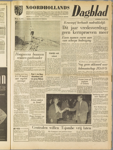 Noordhollands Dagblad : dagblad voor Alkmaar en omgeving 1961-06-22