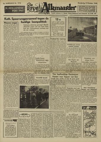 De Vrije Alkmaarder 1949-10-13