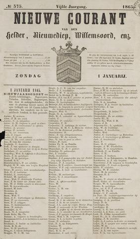 Nieuwe Courant van Den Helder 1865-01-01