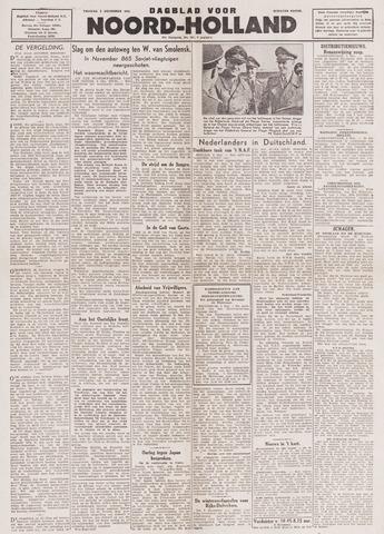 Dagblad Noord-Holland, Schager editie 1943-12-03