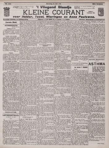 Vliegend blaadje : nieuws- en advertentiebode voor Den Helder 1912-07-13