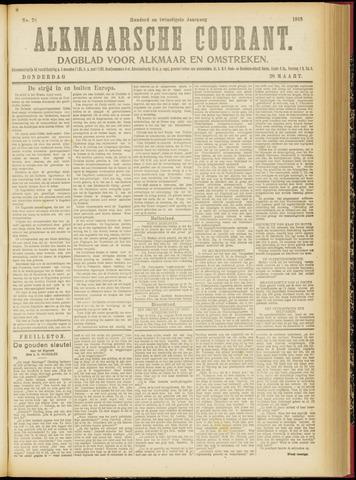 Alkmaarsche Courant 1918-03-28