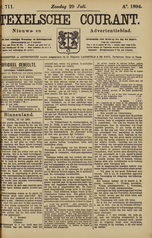 Texelsche Courant 1894-07-29