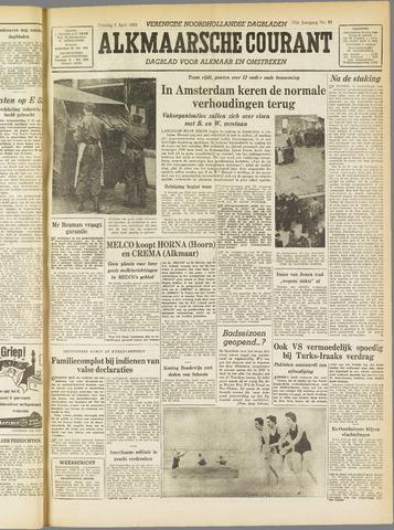 Alkmaarsche Courant 1955-04-05