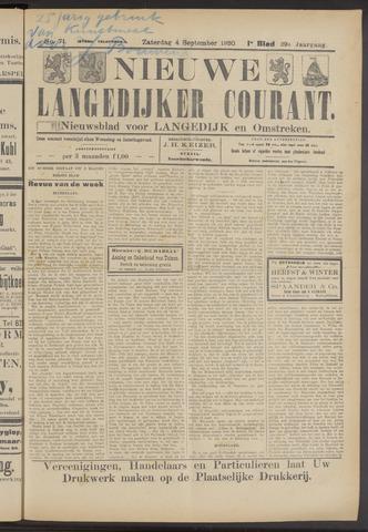 Nieuwe Langedijker Courant 1920-09-04