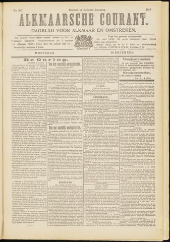 Alkmaarsche Courant 1914-12-30