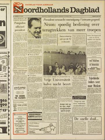 Noordhollands Dagblad : dagblad voor Alkmaar en omgeving 1969-06-20