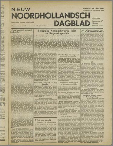 Nieuw Noordhollandsch Dagblad : voor Alkmaar en omgeving 1945-06-19