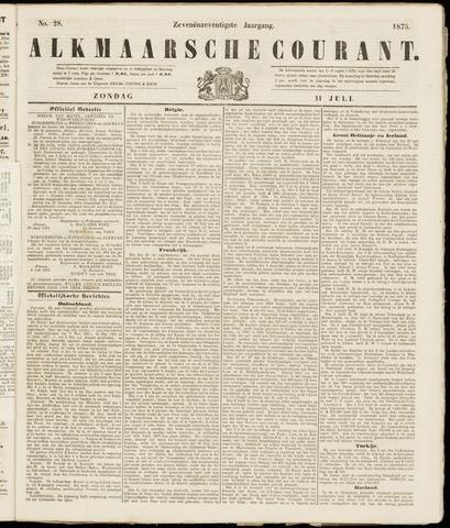 Alkmaarsche Courant 1875-07-11