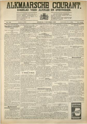 Alkmaarsche Courant 1930-10-07