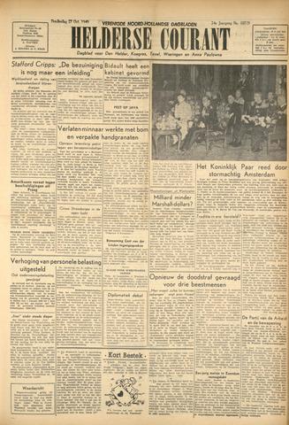 Heldersche Courant 1949-10-27