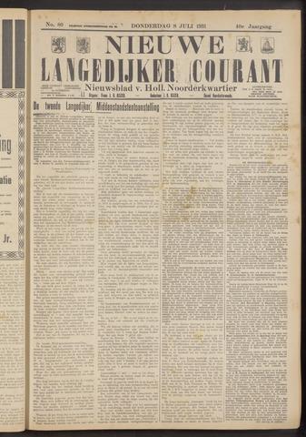 Nieuwe Langedijker Courant 1931-07-08
