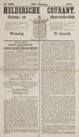 Heldersche Courant 1871-01-25