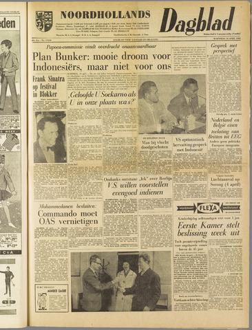 Noordhollands Dagblad : dagblad voor Alkmaar en omgeving 1962-04-18