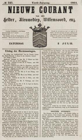 Nieuwe Courant van Den Helder 1864-07-02