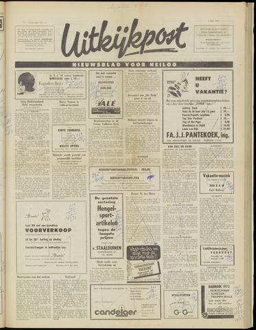 Uitkijkpost : nieuwsblad voor Heiloo e.o. 1972-07-05
