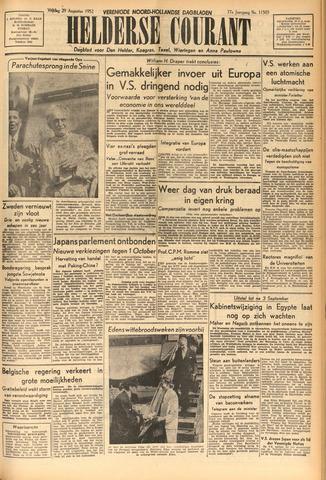 Heldersche Courant 1952-08-29