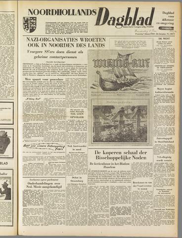 Noordhollands Dagblad : dagblad voor Alkmaar en omgeving 1953-01-08