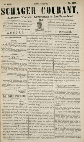 Schager Courant 1881-01-09
