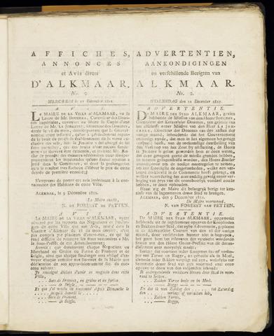 Alkmaarsche Courant 1811-12-11