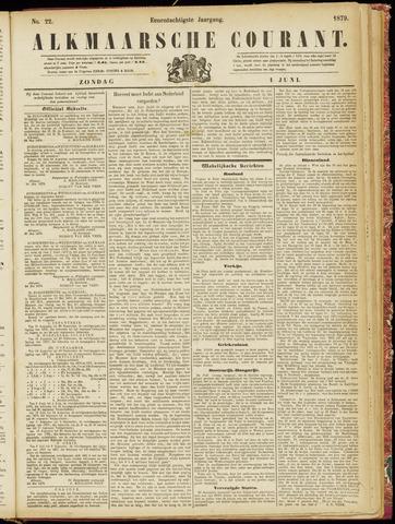 Alkmaarsche Courant 1879-06-01