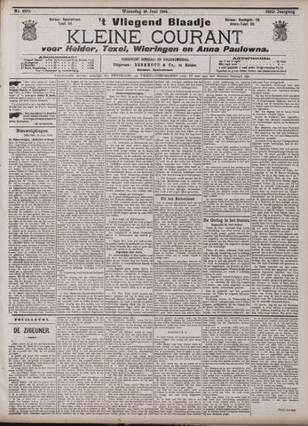 Vliegend blaadje : nieuws- en advertentiebode voor Den Helder 1904-06-29
