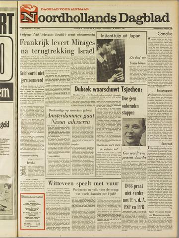 Noordhollands Dagblad : dagblad voor Alkmaar en omgeving 1969-01-09