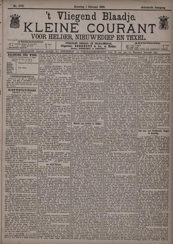 Vliegend blaadje : nieuws- en advertentiebode voor Den Helder 1890-02-01
