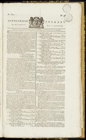 Alkmaarsche Courant 1837-11-27