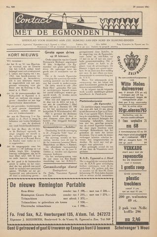 Contact met de Egmonden 1962-01-25