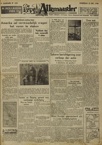 De Vrije Alkmaarder 1948-12-22