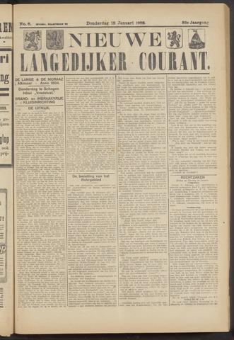 Nieuwe Langedijker Courant 1923-01-18