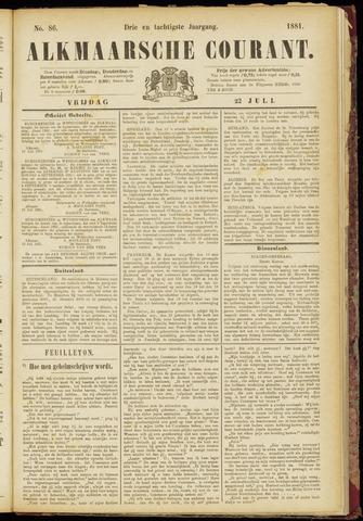 Alkmaarsche Courant 1881-07-22