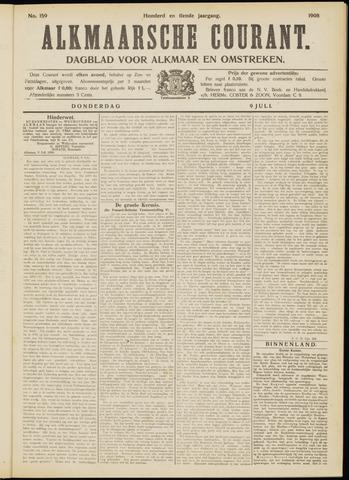 Alkmaarsche Courant 1908-07-09