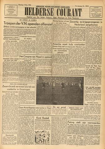 Heldersche Courant 1950-11-13
