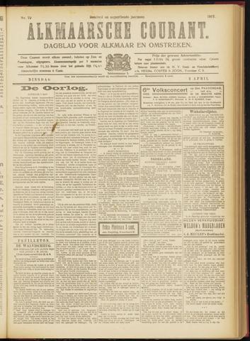 Alkmaarsche Courant 1917-04-03