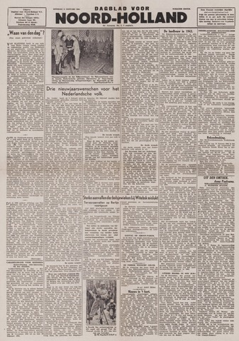 Dagblad Noord-Holland, Schager editie 1944-01-04