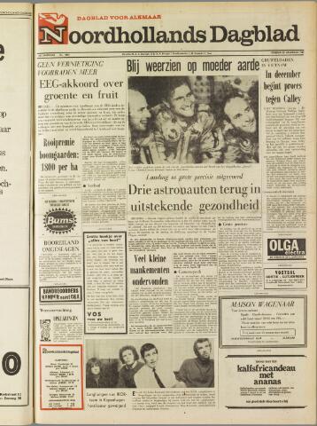 Noordhollands Dagblad : dagblad voor Alkmaar en omgeving 1969-11-25